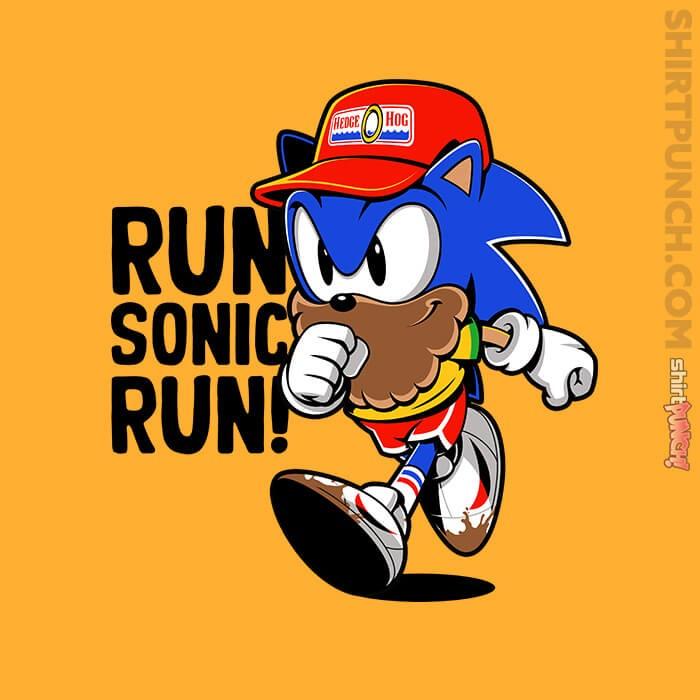 ShirtPunch: Run Sonic Run
