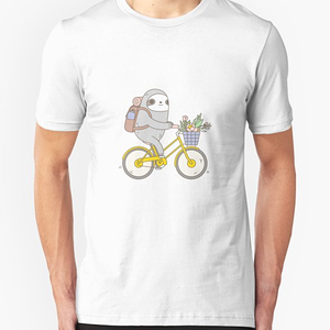 RedBubble: Biking Sloth