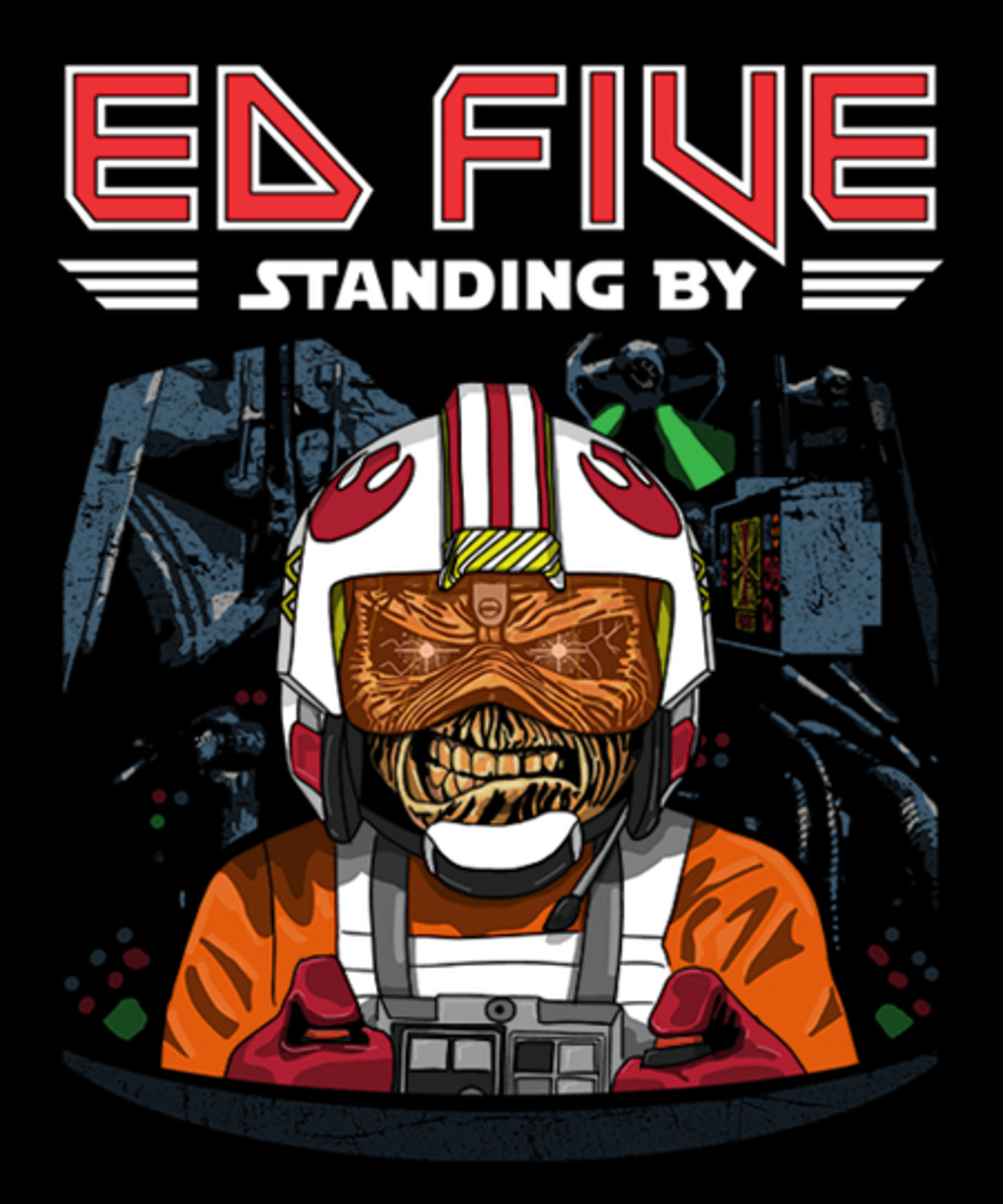 Qwertee: Ed Five Standing By