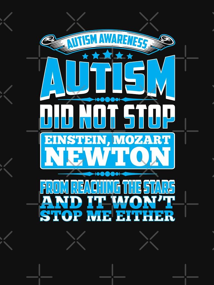 RedBubble: Autism Awareness Autism Did Not Stop Einstein