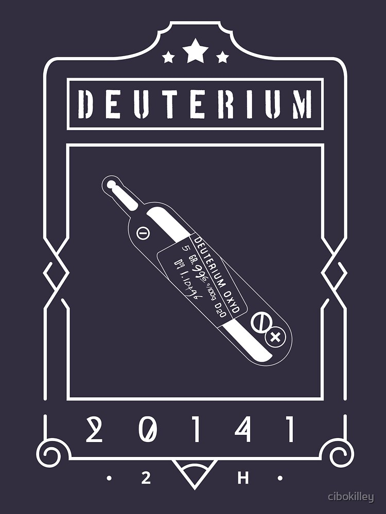 RedBubble: Deuterium