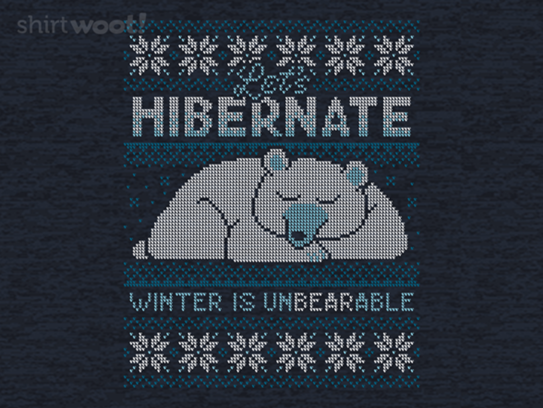 Woot!: Hibernate Sweater