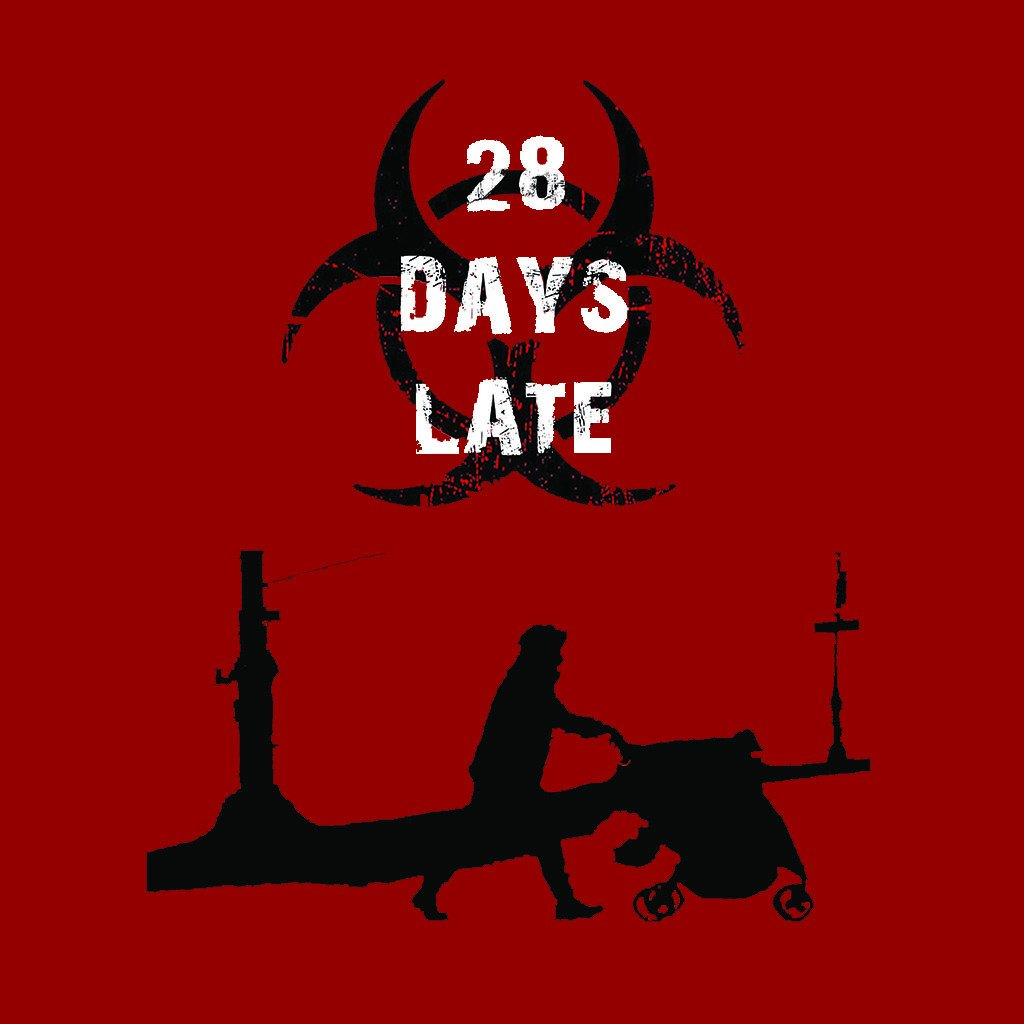 LivingTees: 28 Days Late Tee