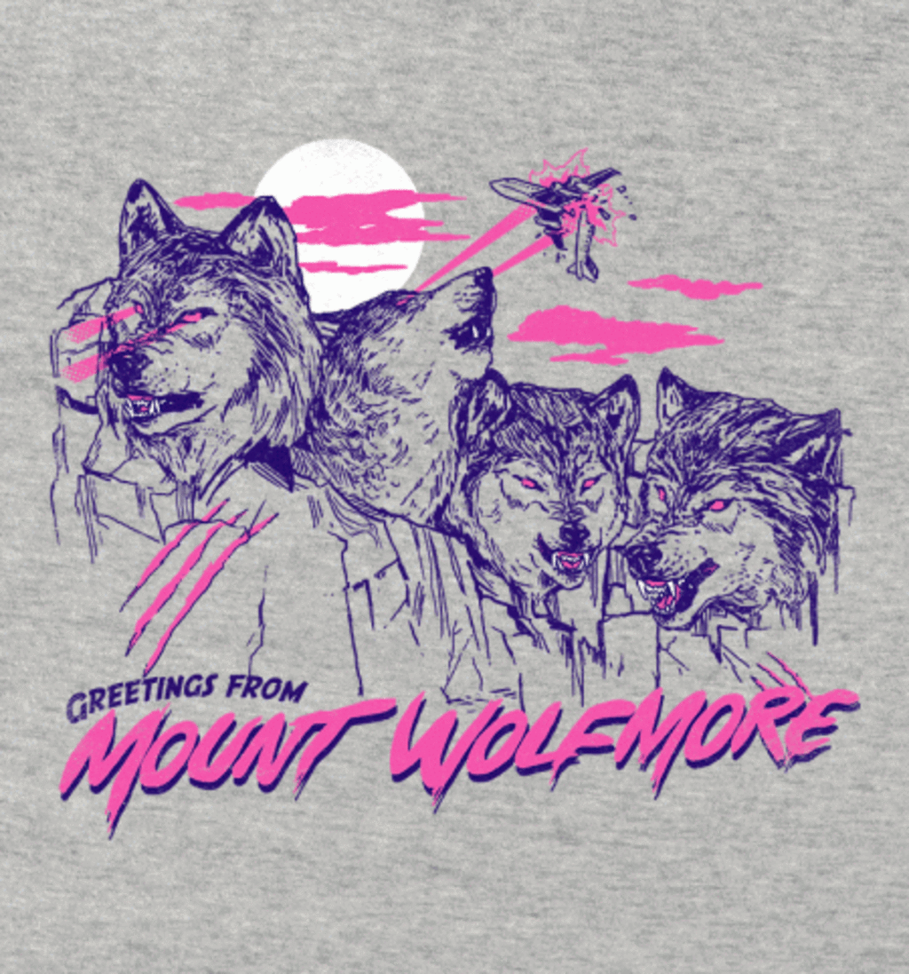 BustedTees: Mount Wolfmore