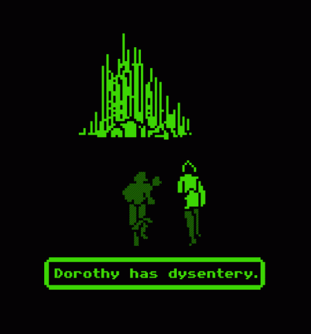 BustedTees: Dorothy Has Dysentery