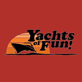 BustedTees: Yachts of Fun Hoodie