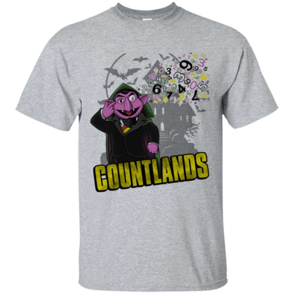 Pop-Up Tee: COUNTLANDS