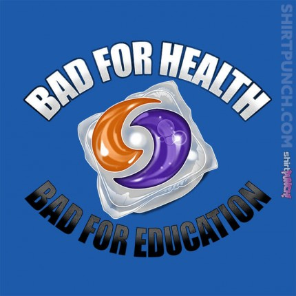 ShirtPunch: Bad For Health