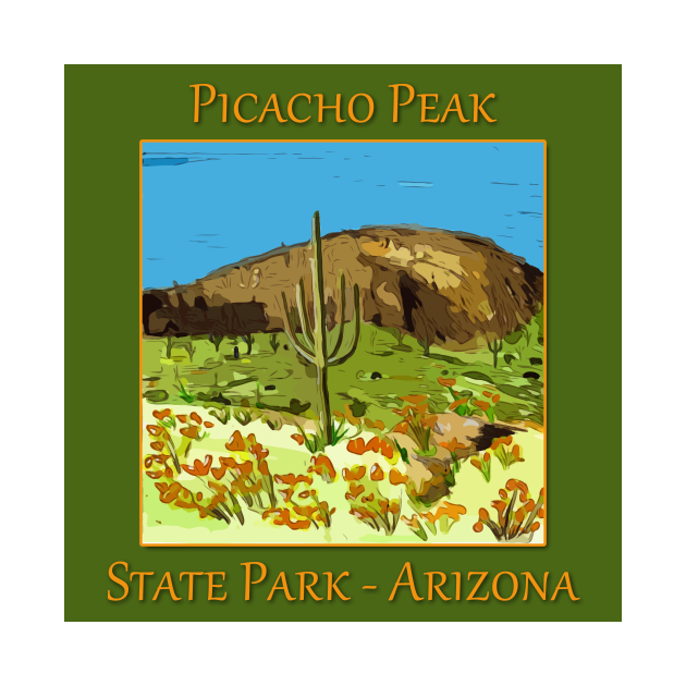 TeePublic: Picachu Peak State Park in Arizona