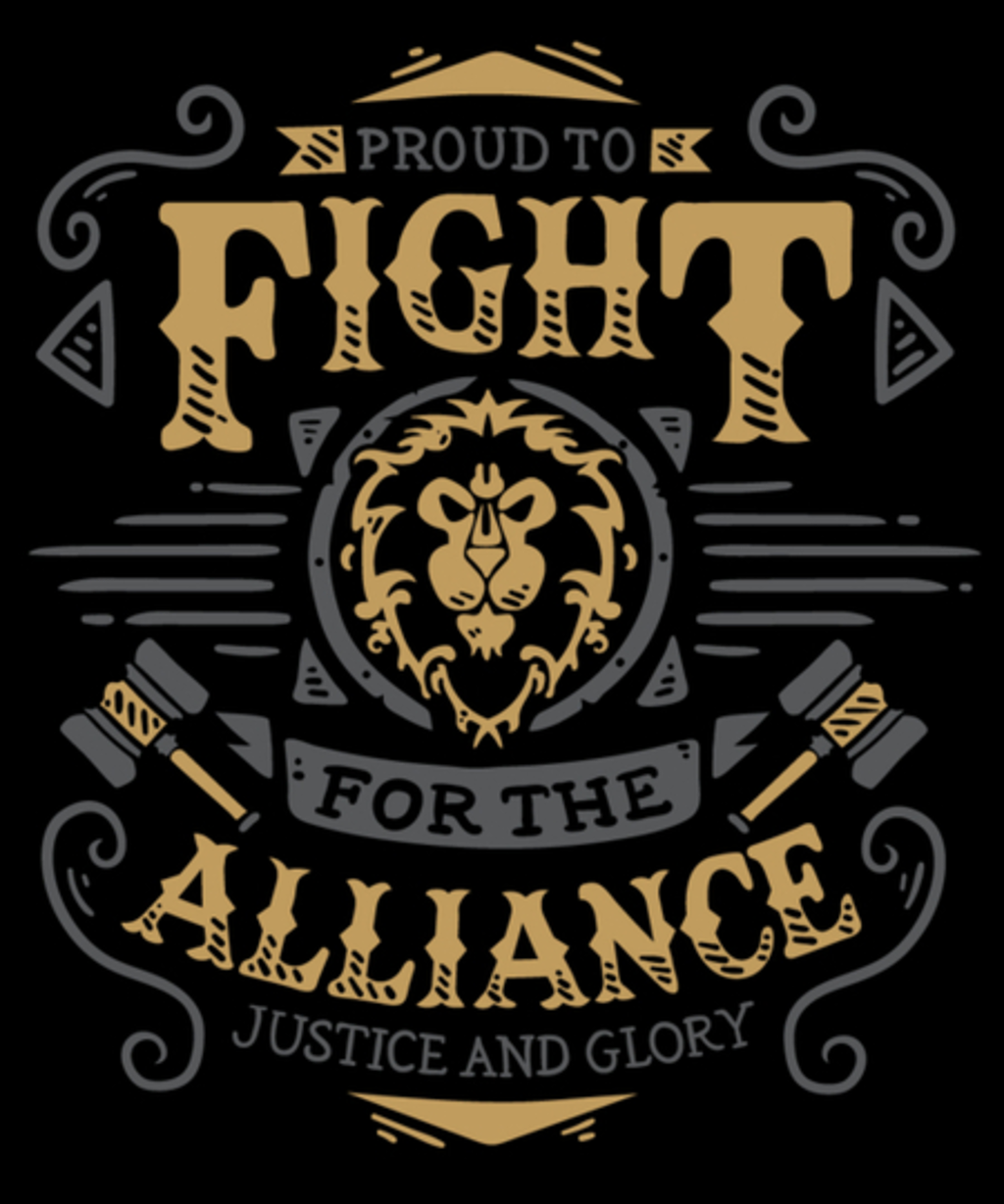 Qwertee: Fight for the Alliance