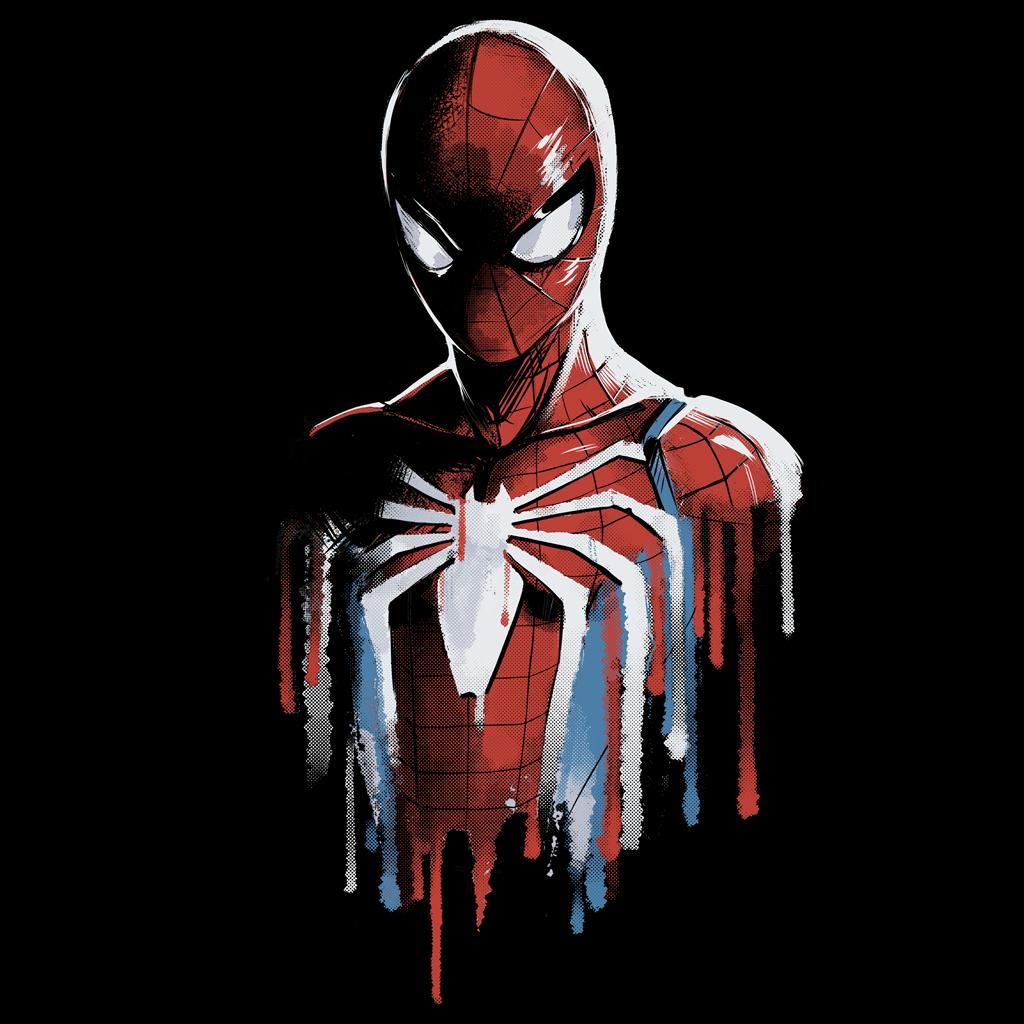 TeeTee: Watercolor Spider