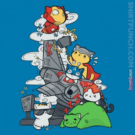ShirtPunch: Kittengers