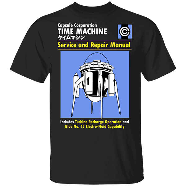 Pop-Up Tee: Time Machine Manual