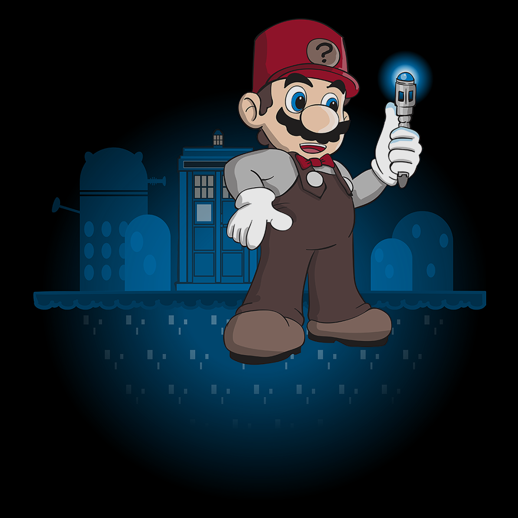 Pop-Up Tee: Mario Who