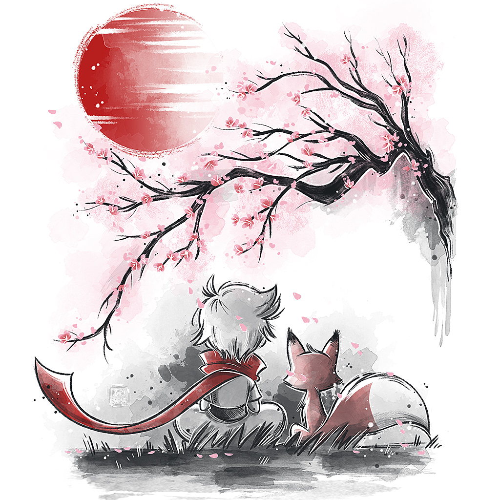 TeeTee: Sakura friends