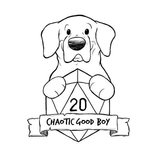 TeePublic: Chaotic Good Boy