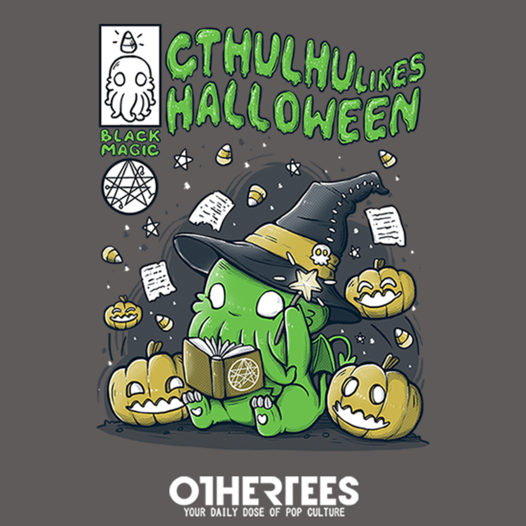 OtherTees: Cthulhu likes Halloween