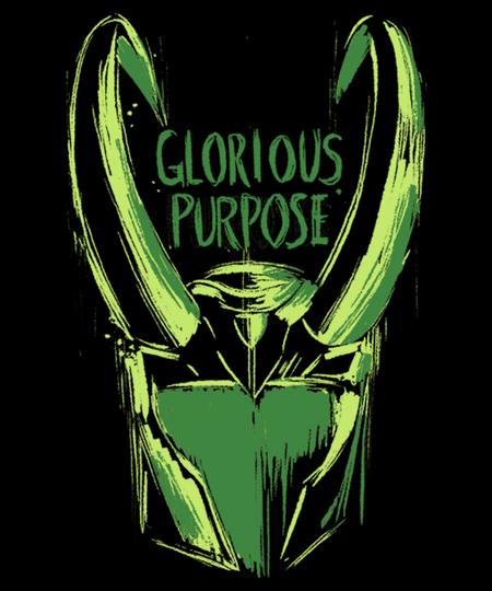 Qwertee: Glorious Purpose