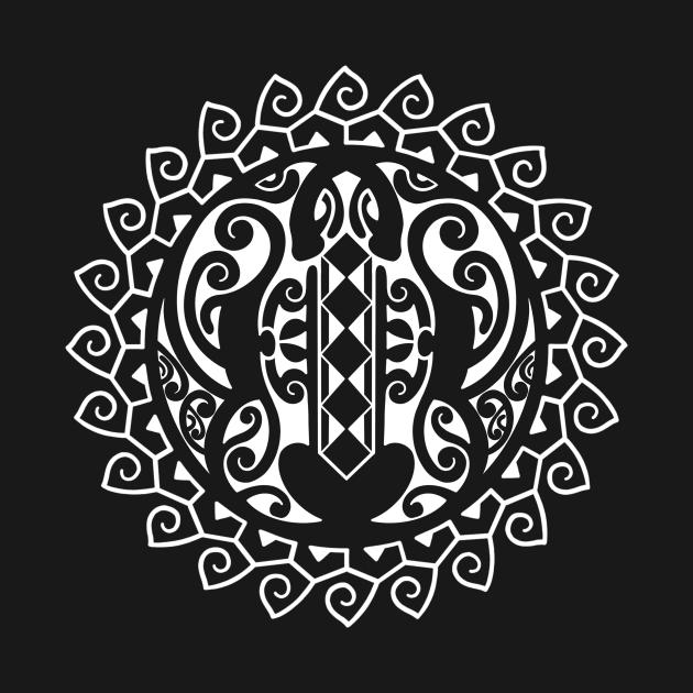 TeePublic: Polynesian turtle design