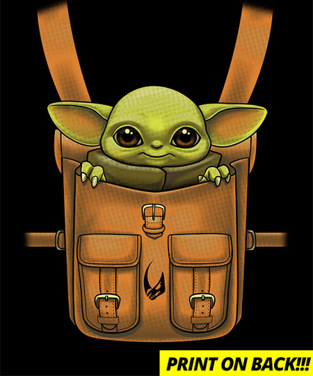Qwertee: The Child in my Backpack