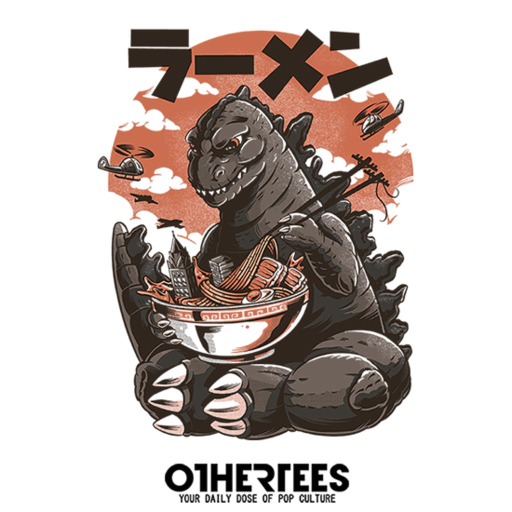 OtherTees: Kaiju's Ramen
