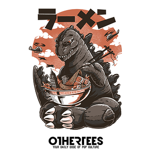 OtherTees: Kaiju's Ramen