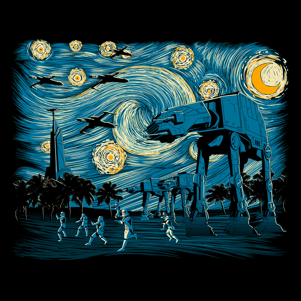 TeeTee: Starry Scarif