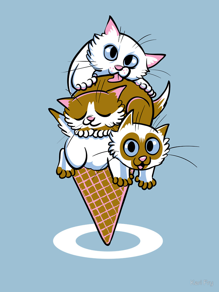 RedBubble: Kitten Cone