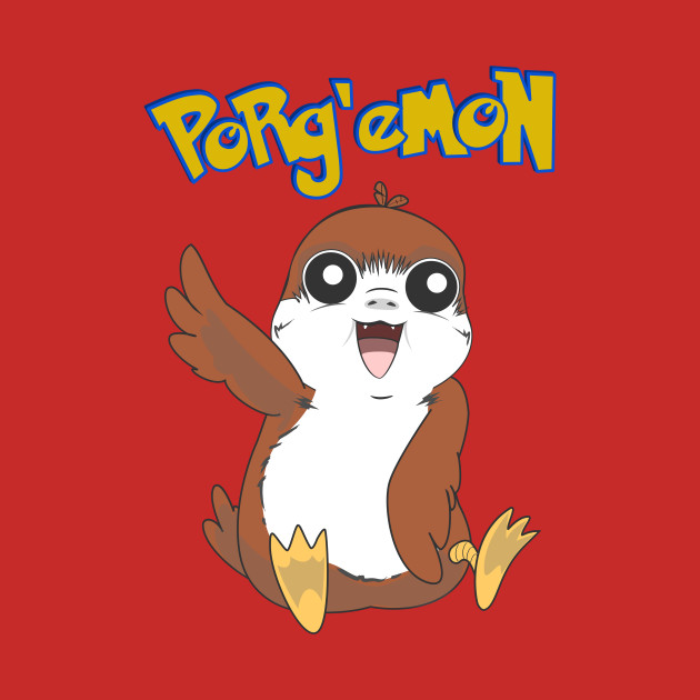 TeePublic: Porg'emon