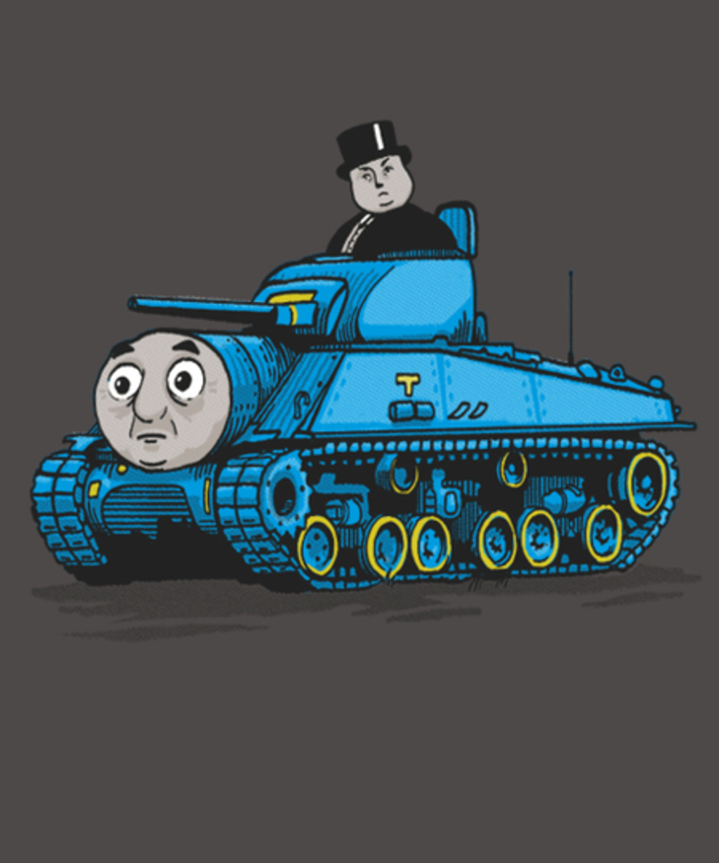 Qwertee: Thomas The Tank