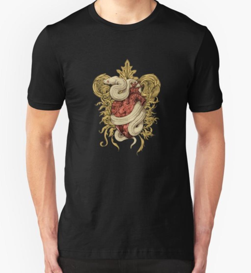 RedBubble: Gilded Snake