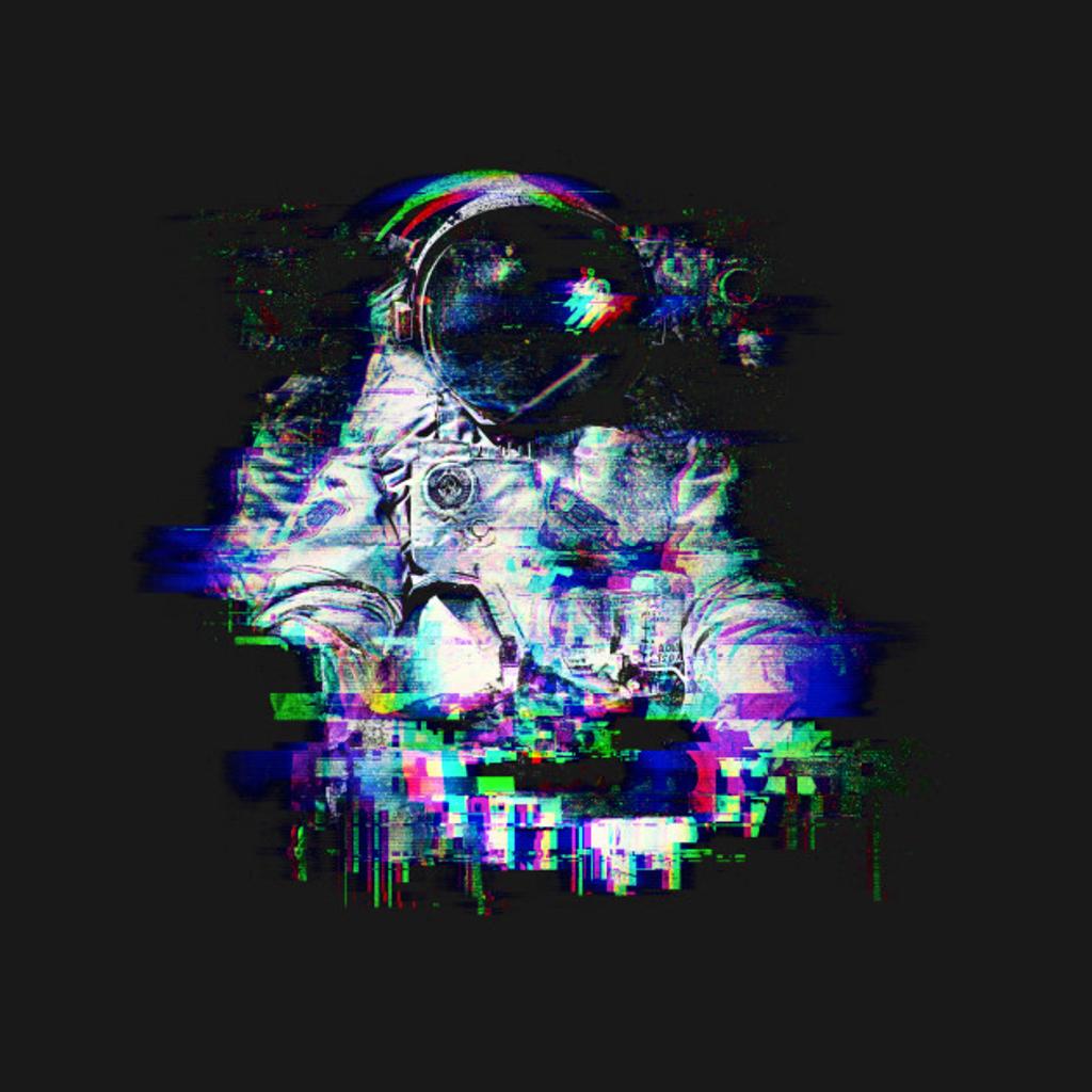 TeePublic: Space Glitch