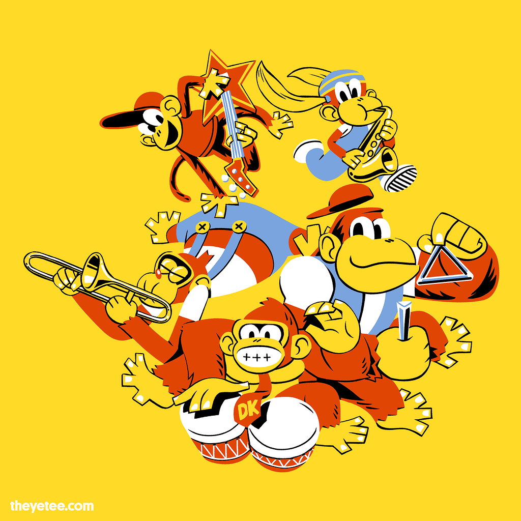The Yetee: Jungle Jam!