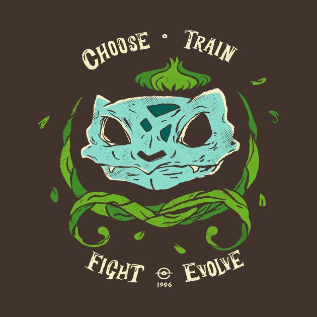 TeePublic: I Choose Grass