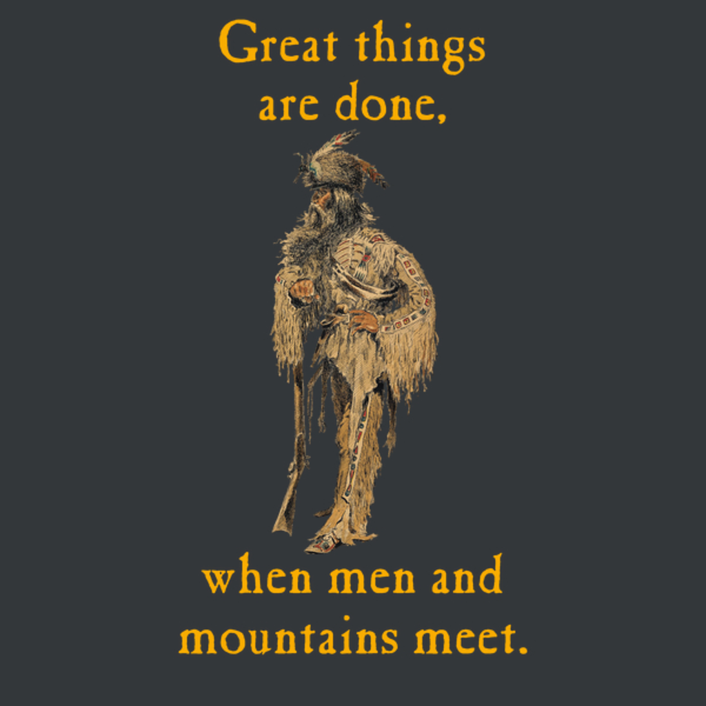 NeatoShop: MEN AND MOUNTAINS