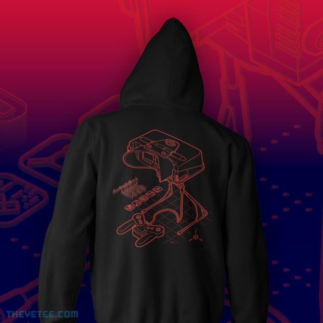 The Yetee: VR Blueprint Hoodie