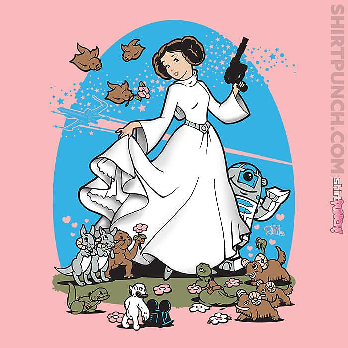 ShirtPunch: The Princess