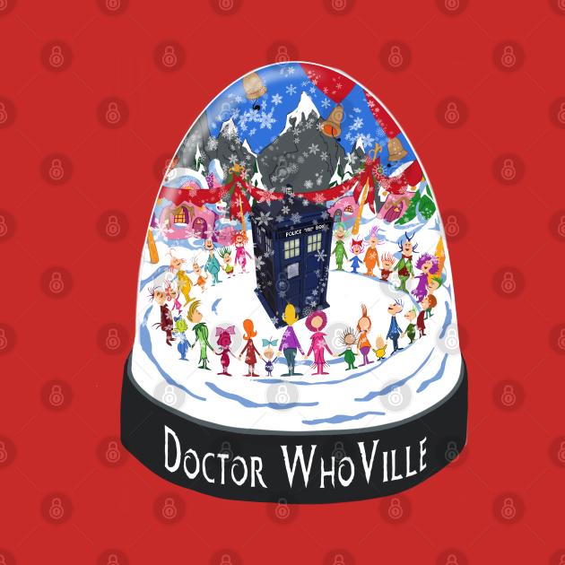 TeePublic: Doctor WhoVille