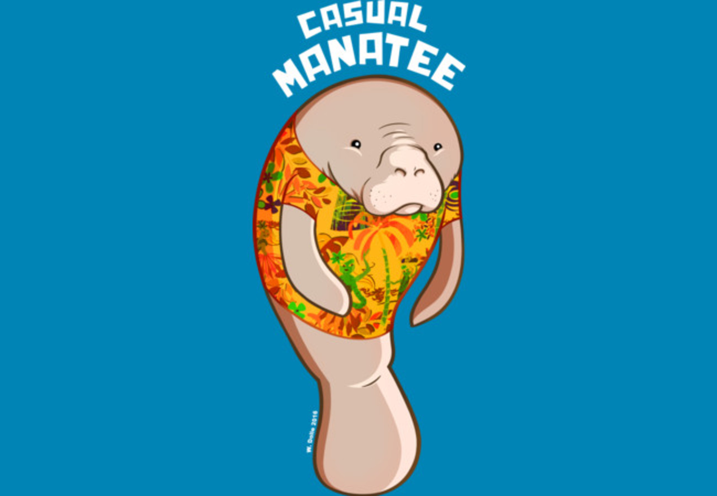 Design by Humans: Manatee
