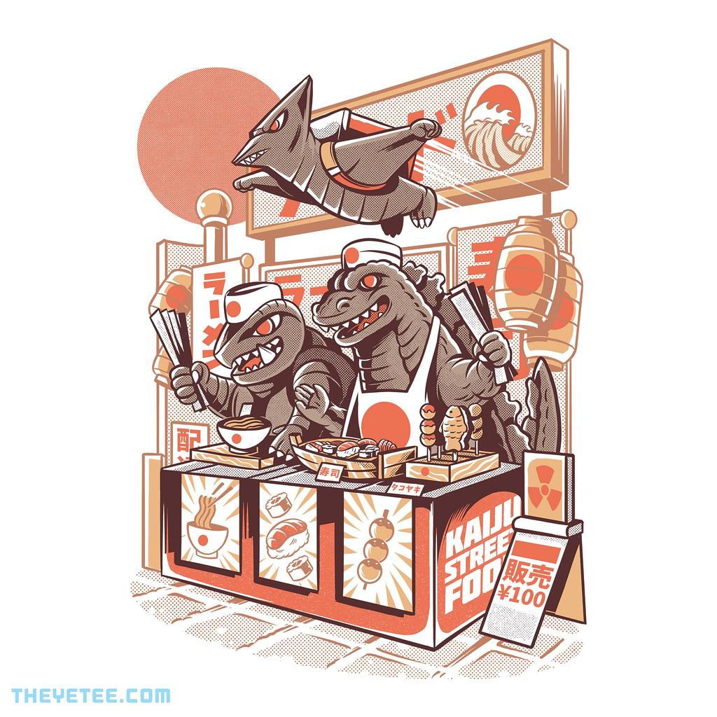 The Yetee: Kaiju street food