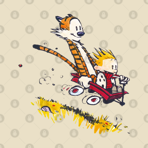 TeePublic: calvin and hobbes new