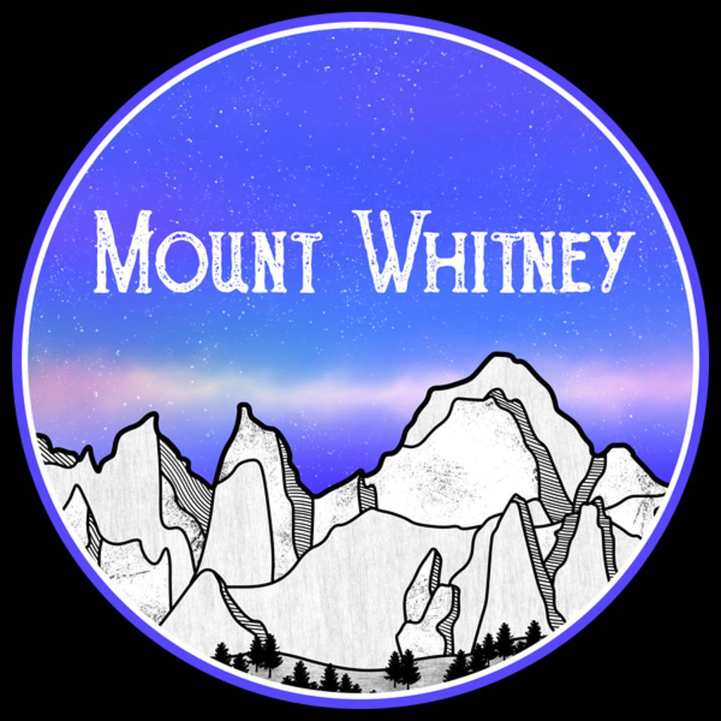 NeatoShop: Mount Whitney