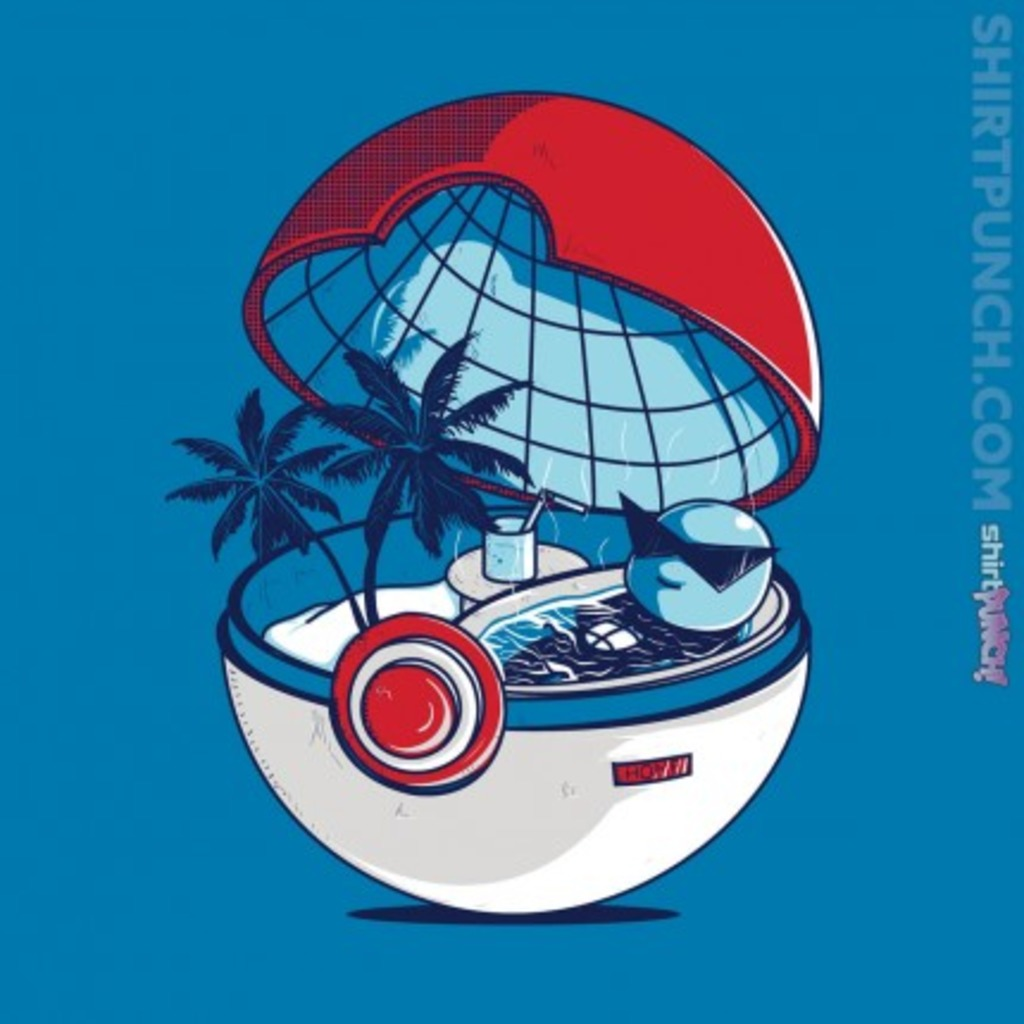 ShirtPunch: Blue Pokehouse