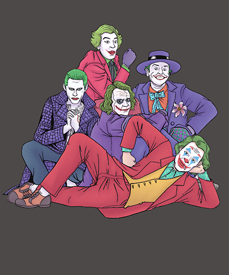 Qwertee: The Laughing Clown Club
