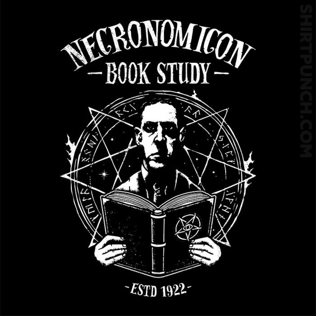 ShirtPunch: Necronomicon Book Study