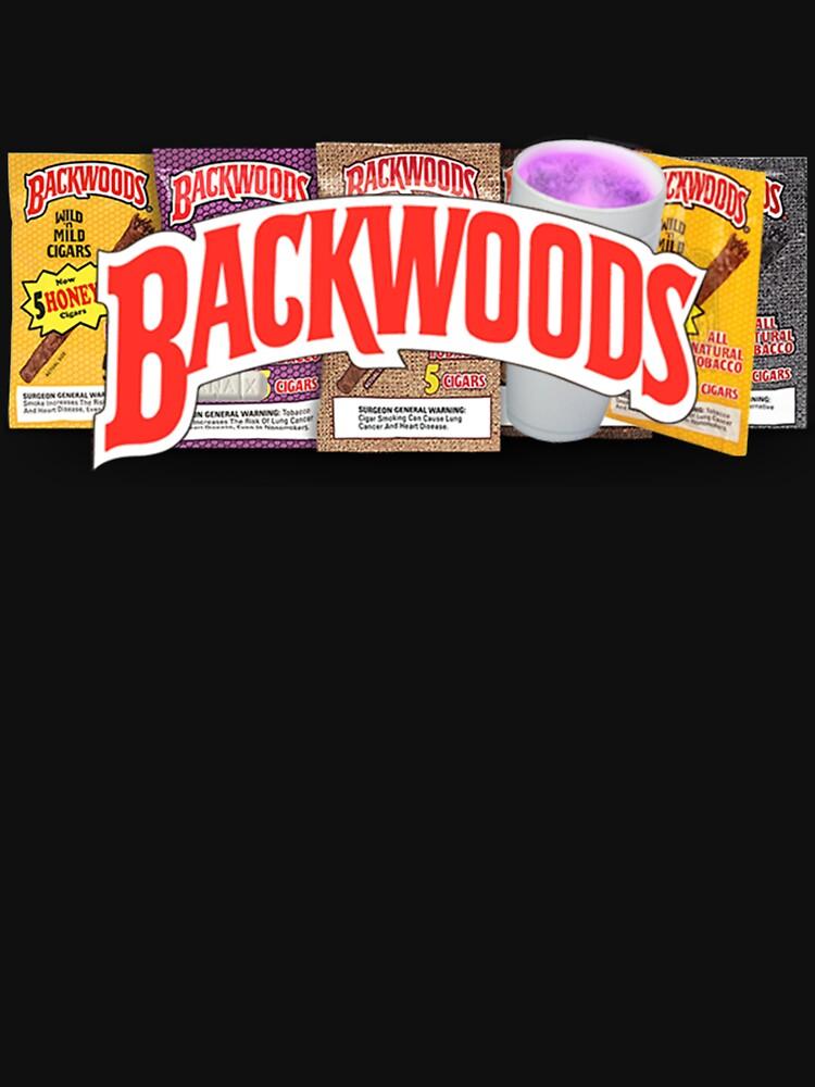 RedBubble: BACKWOODS VINTAGE HIPHOP SHIRT