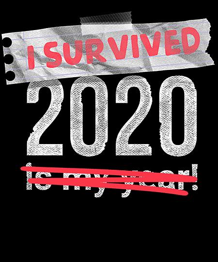 Qwertee: I survived 2020