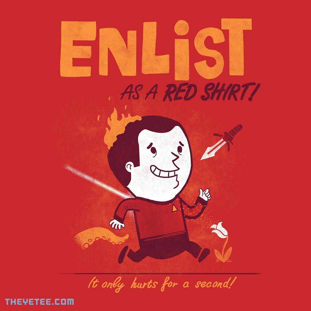 The Yetee: Enlist!