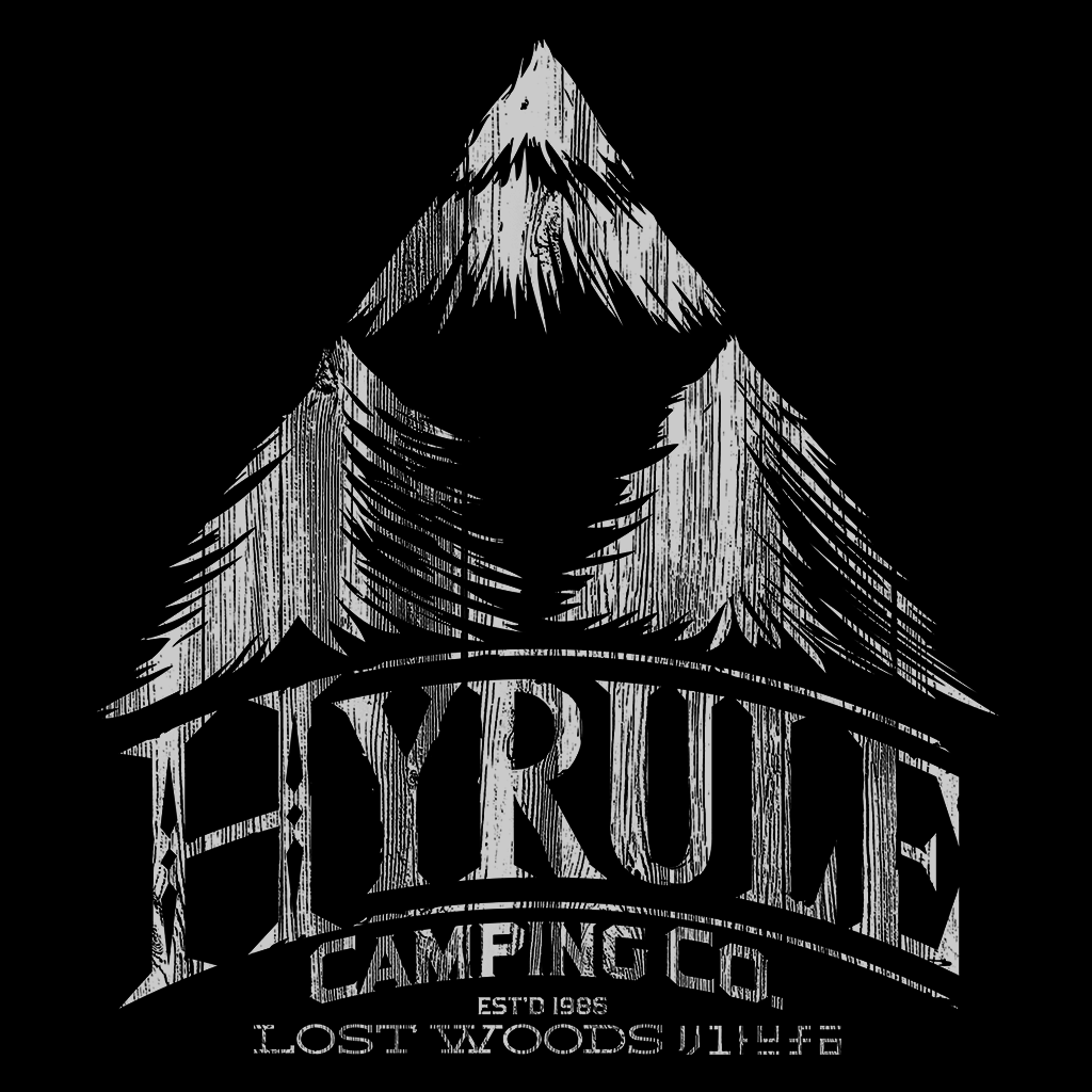 Pop-Up Tee: Hyrule Camping Co