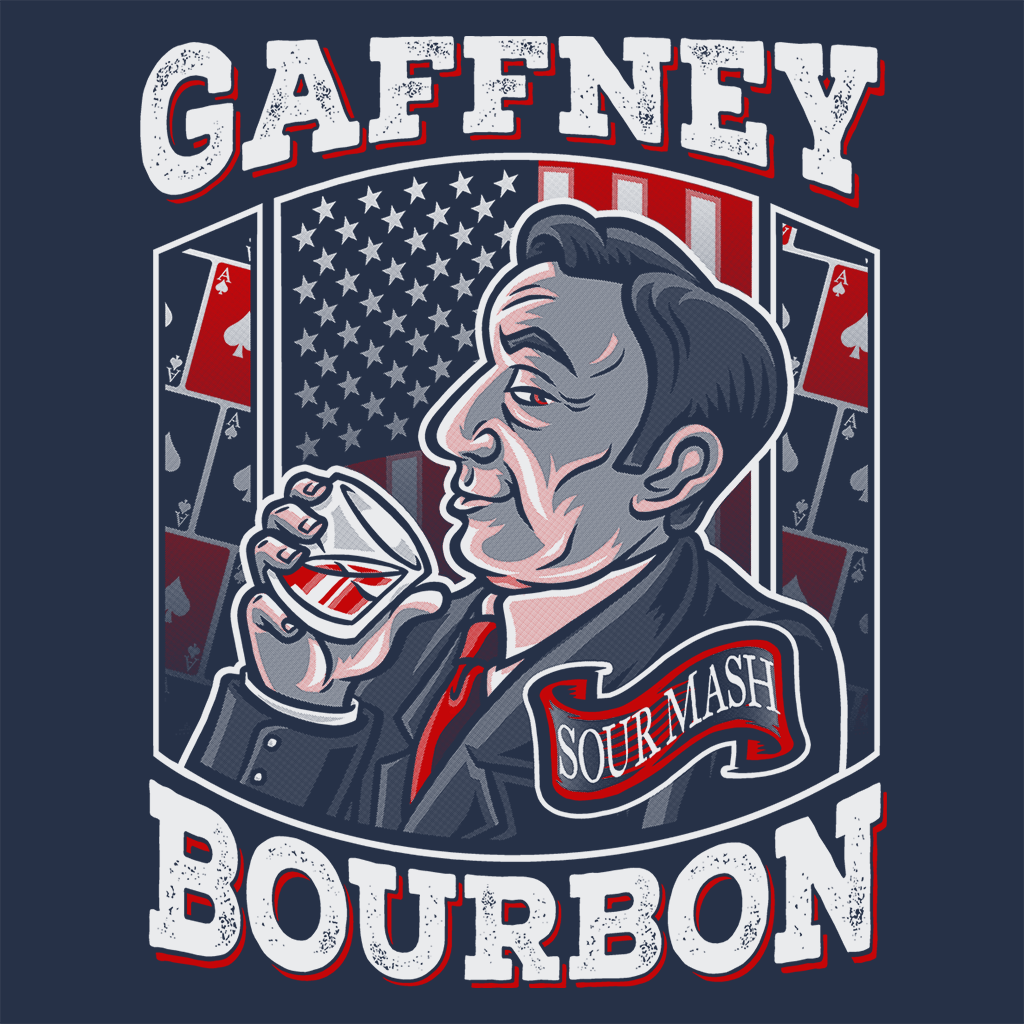 Pop-Up Tee: Gaffney Bourbon